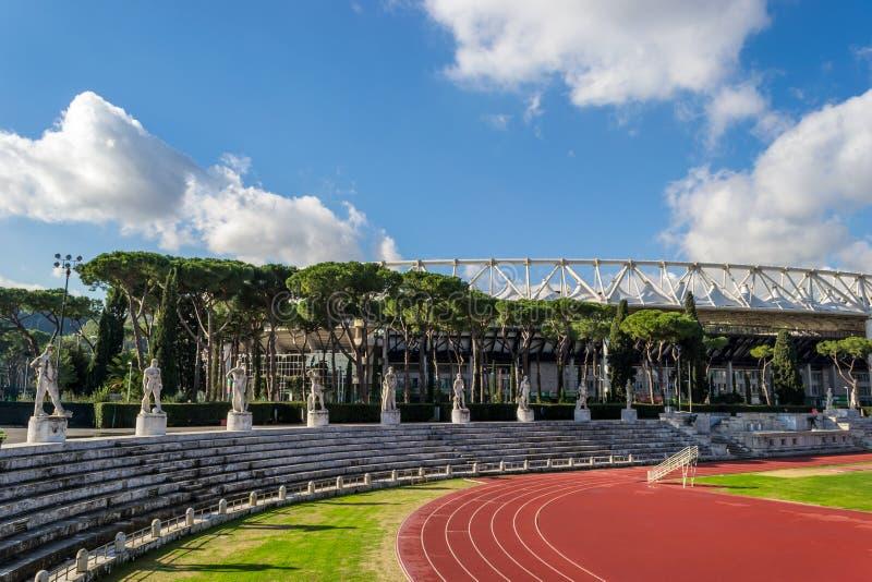 Download Olympico Stadium Roma editorial stock image. Image of audience - 24998544