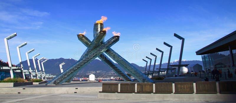Olympics 2010 Vancouver van de winter royalty-vrije stock foto