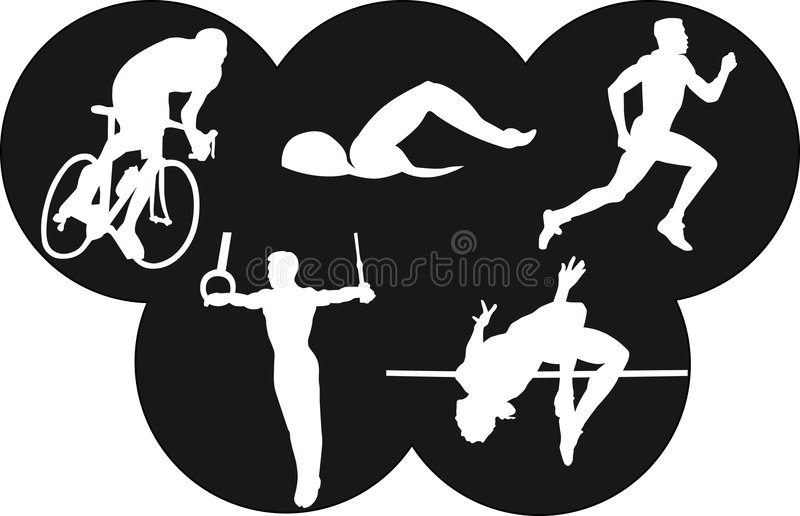 Olympics lizenzfreie abbildung