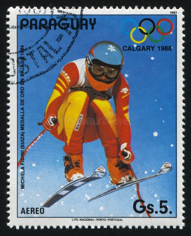 Olympics em Calgary imagem de stock royalty free