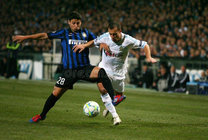 Olympique De Marseille V Inter Editorial Photo