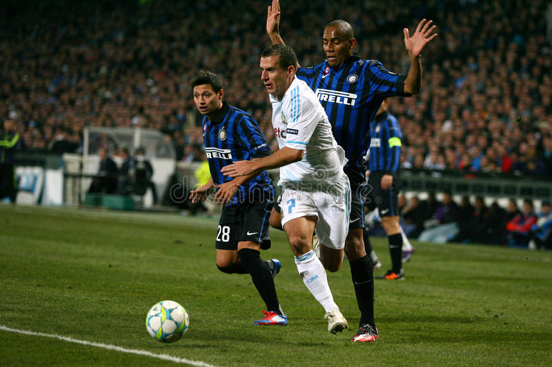Download Olympique De Marseille V Inter Editorial Photography - Image of sport, milano: 24266107