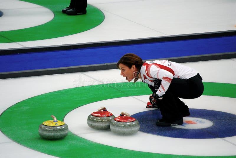 Olympisch, 2010 kräuselnd lizenzfreie stockfotos