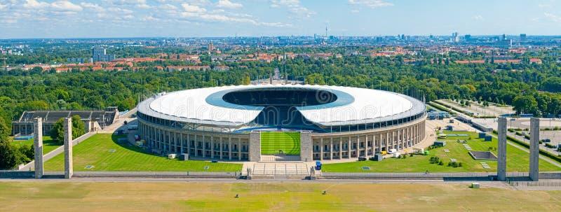 Olympisch Stadion in Berlijn royalty-vrije stock afbeeldingen