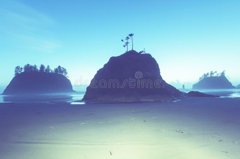 Olympische Küste stockbilder