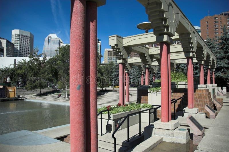 Olympische Piazza stockbilder