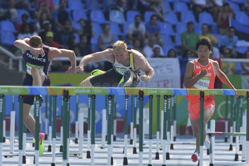 Download Olympische Spiele Rio 2016 redaktionelles stockfoto. Bild von läufer - 96930133