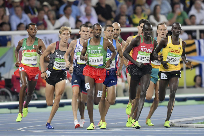 Download Olympische Spiele Rio 2016 redaktionelles stockbild. Bild von spur - 96930144