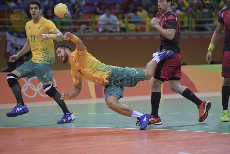 Download Olympische Spiele Rio 2016 redaktionelles stockfotografie. Bild von übereinstimmung - 96930252