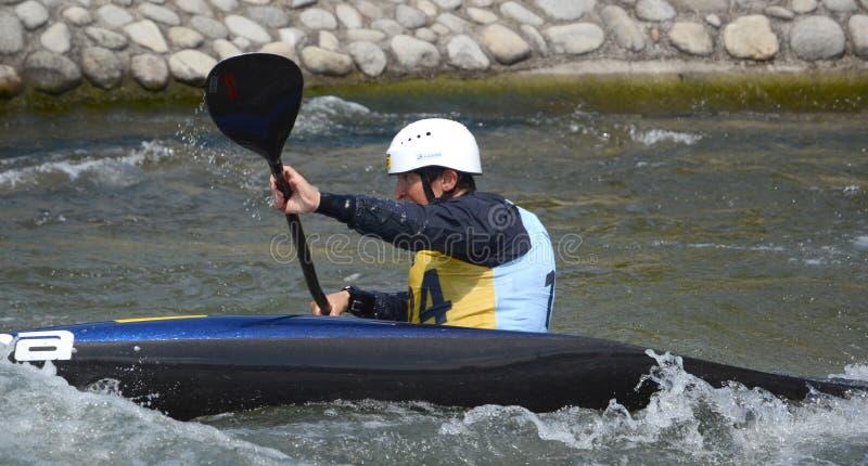 Olympischer Meister Elena Kaliská - Slowakei lizenzfreies stockbild