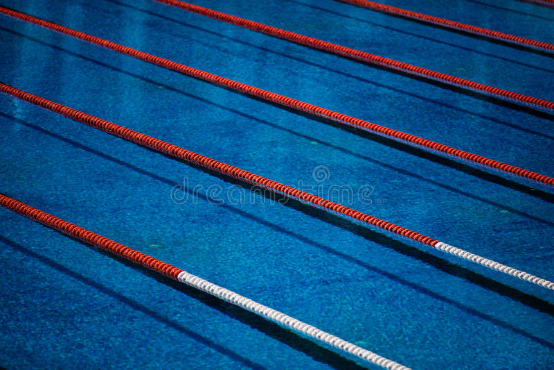 Olympischer Swimmingpool stockfotografie