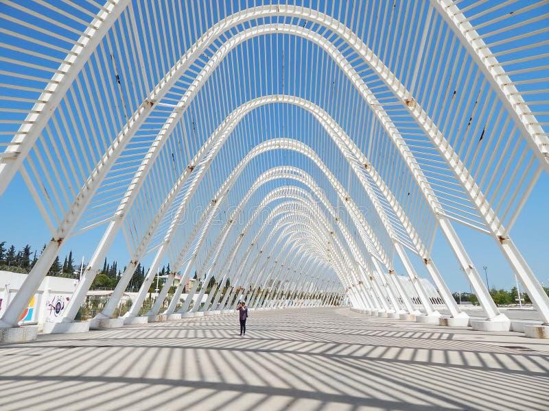 Olympiska sportar för Aten som är komplexa i Grekland arkivbild