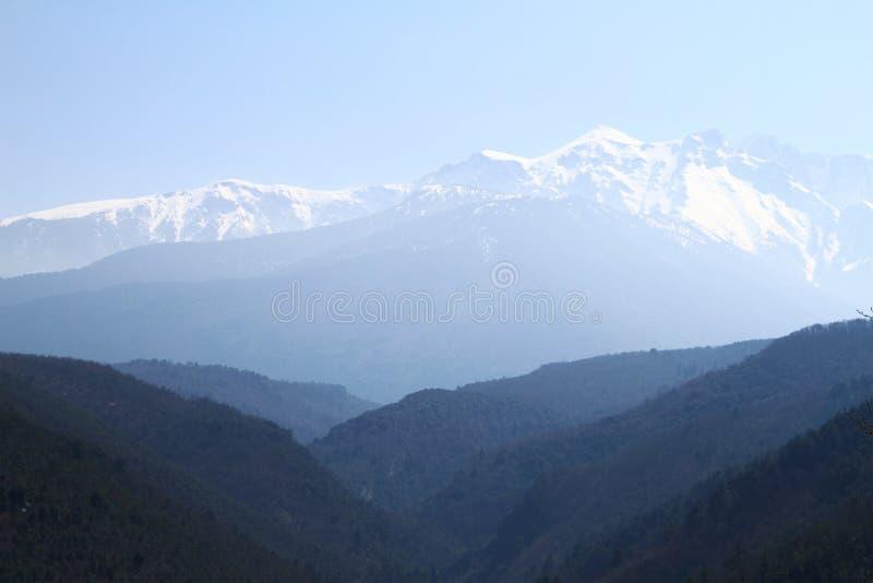 Olympus berg arkivbild