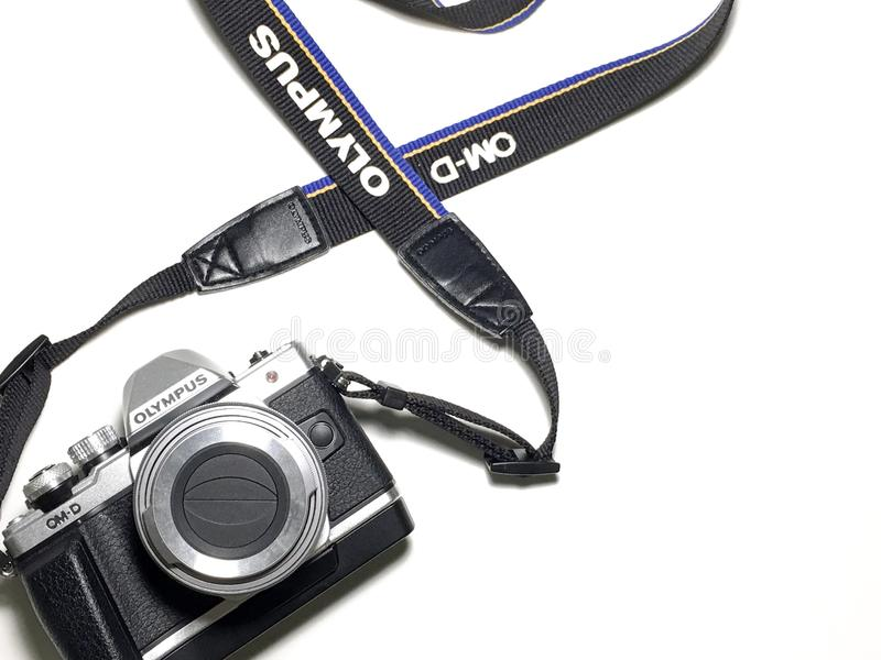 Olympus Camera royalty free stock photos