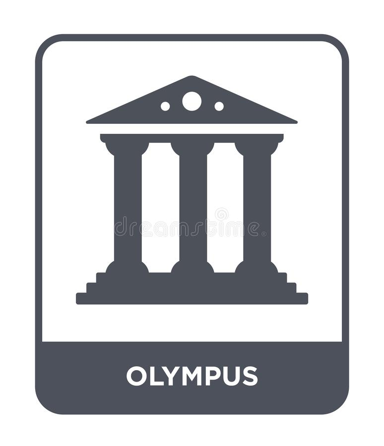 olympus icon in trendy design style. olympus icon isolated on white background. olympus vector icon simple and modern flat symbol royalty free stock photo