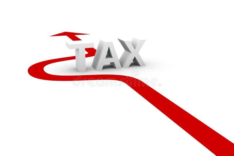 Om de belasting te vermijden royalty-vrije illustratie