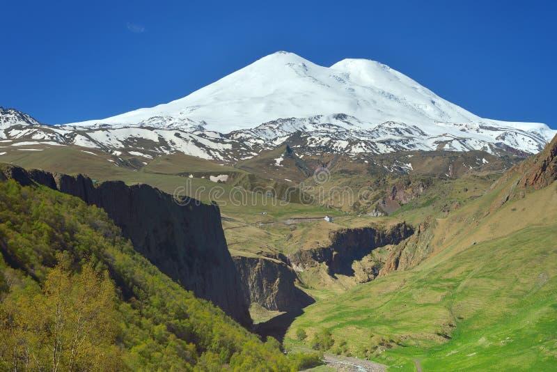 Om Elbrus arkivfoton