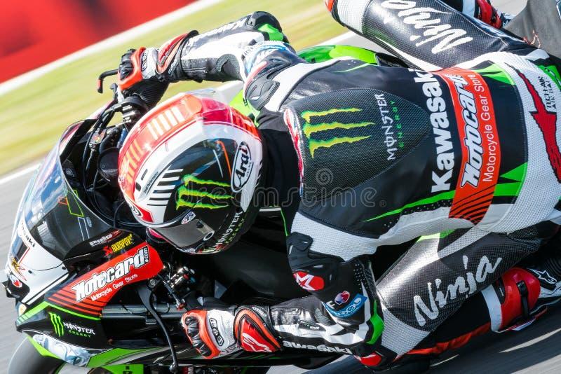 Om 1, het Kampioenschap van de Wereldsuperbike van 2017 MOTUL-FIM royalty-vrije stock afbeeldingen
