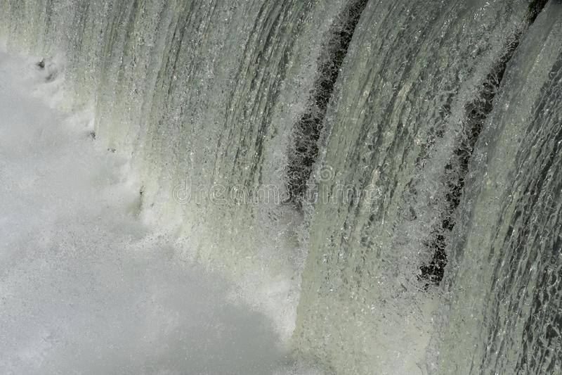 Om?jlig att stanna vattenkraft royaltyfri fotografi