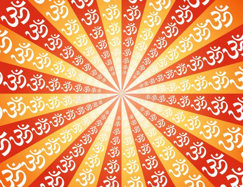 Om mantra royalty free illustration