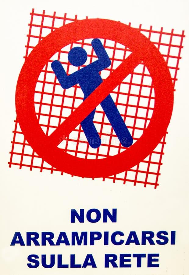 Om op het net te beklimmen niet stock foto's