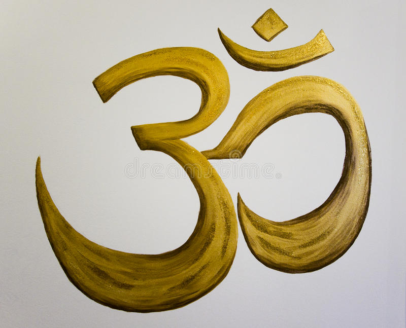 Om sign royalty free stock photos