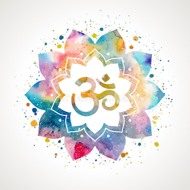 Om sign in lotus flower stock vector illustration of chakra 79794907 download om sign in lotus flower stock vector illustration of chakra 79794907 mightylinksfo
