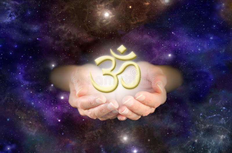 Om - The Sound of the Universe stock photos