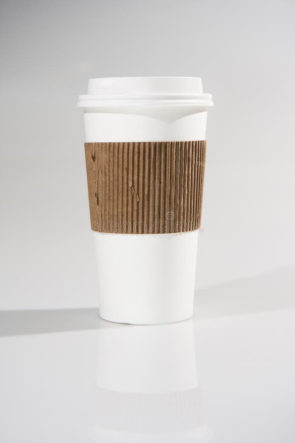 Om te gaan koffiekop royalty-vrije stock foto