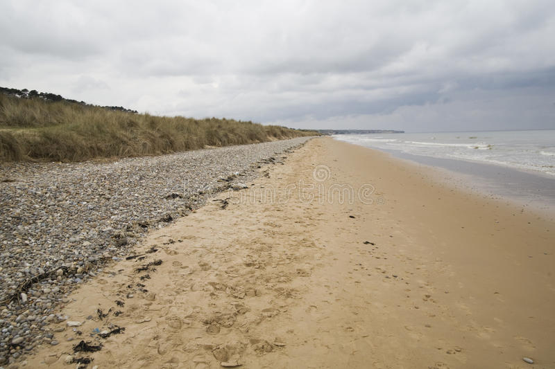 Download Omaha Beach In Normandy Royalty Free Stock Images - Image: 14198609