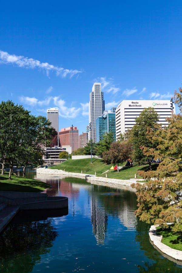 Omaha, Nebraska fotografía de archivo libre de regalías