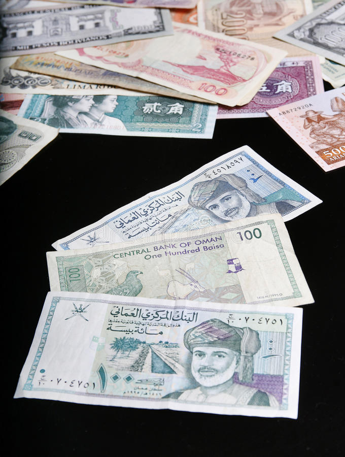 Download Oman Banknotes stock image. Image of oman, currency, financial - 28962141