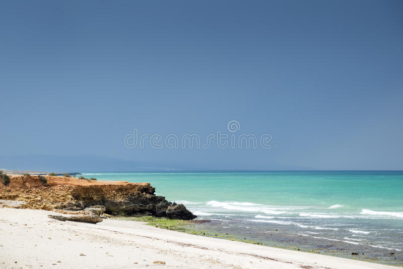 Oman beach stock images