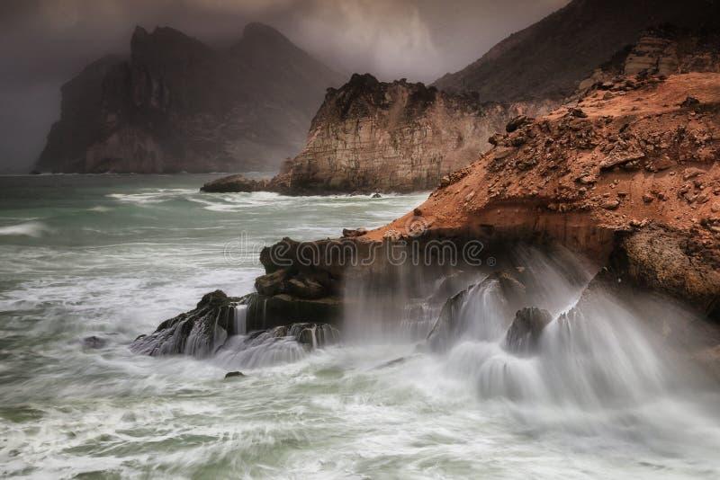 Oman: Khareef royaltyfri foto
