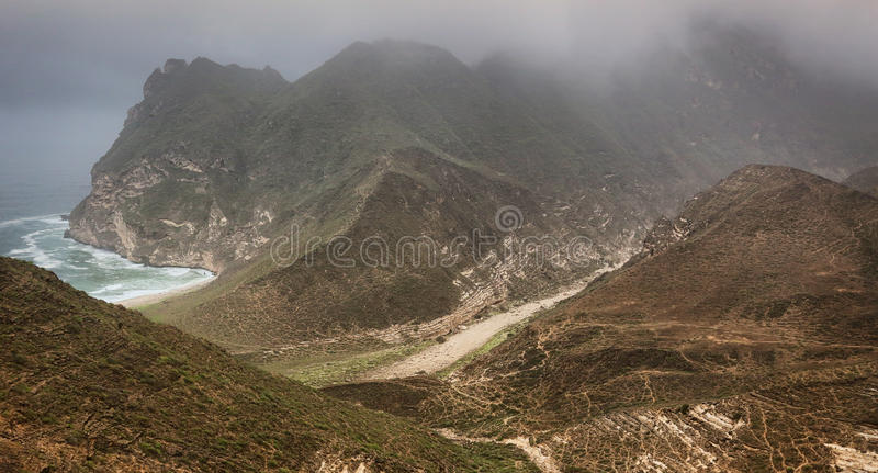 Oman: Khareef arkivfoton