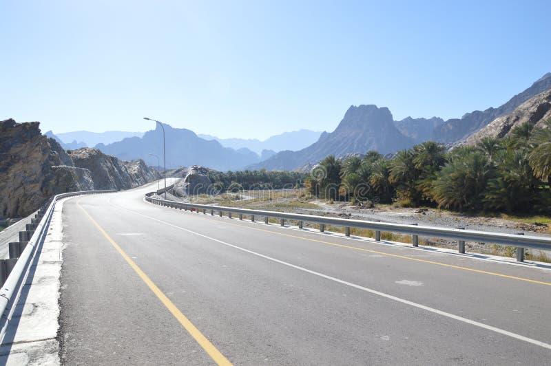 Oman krajobraz obrazy stock