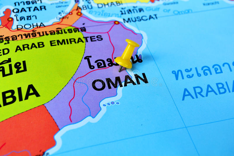 Oman Map Stock Image Image Of Background Qatar Graphic - Oman map download
