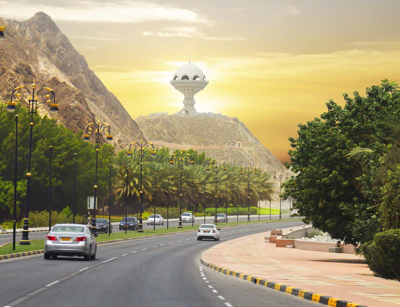 Oman. Muscat. Quay. royalty free stock photos