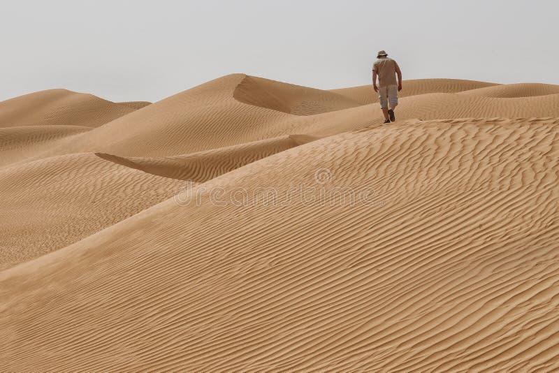 Oman: Töm fjärdedelen royaltyfri foto