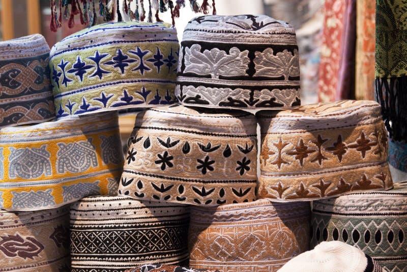 Oman - tampão dos homens imagens de stock