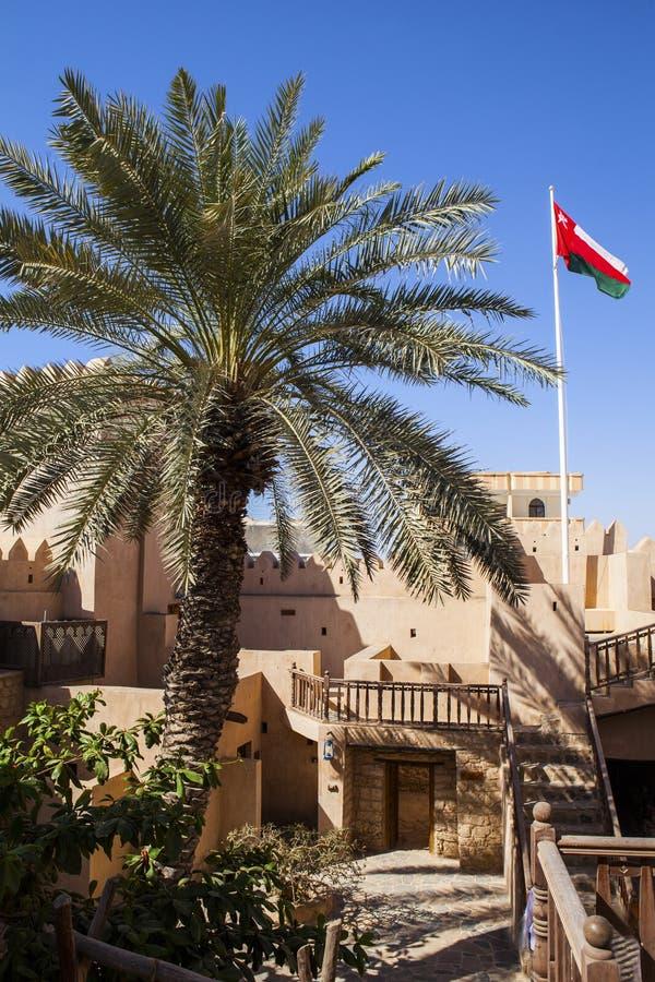 Omani huis royalty-vrije stock afbeelding