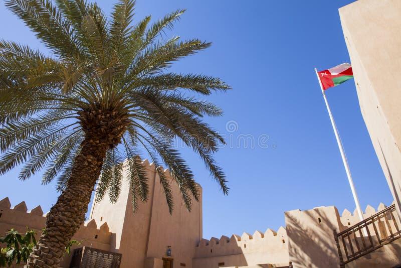 Omani huis royalty-vrije stock fotografie