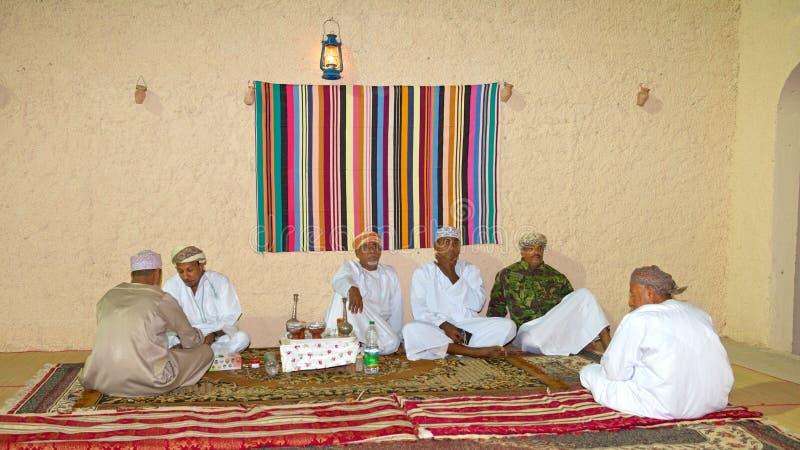 Omani Majlis royalty-vrije stock foto