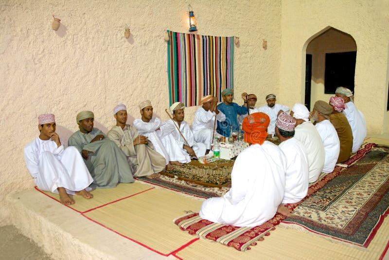 Omani Majlis stock fotografie