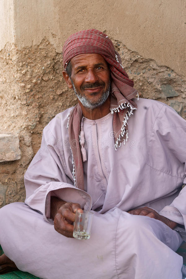 Omani Man royalty free stock photos