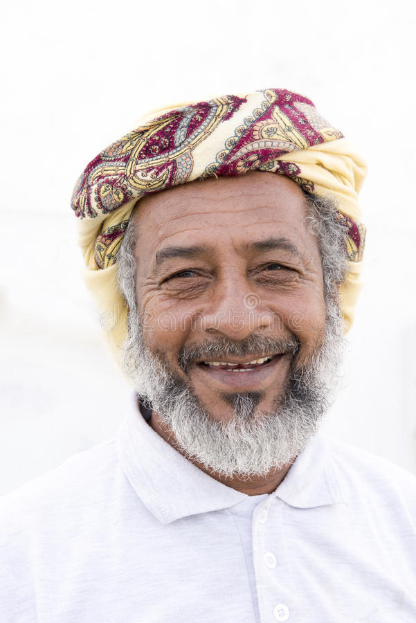 Omani Man royalty free stock photo