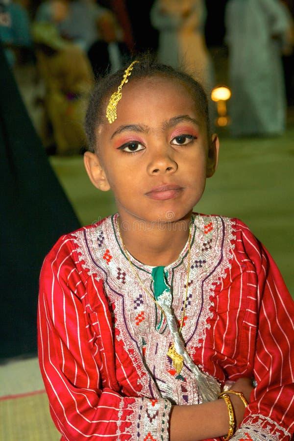 Omani Meisje stock foto's