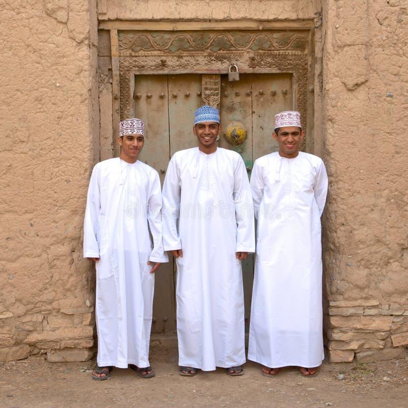 Omani Mensen stock foto