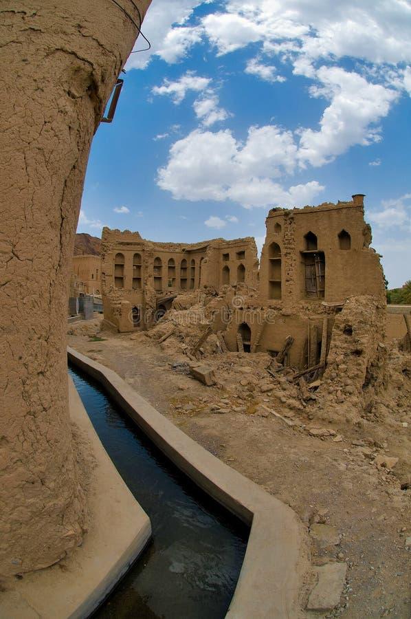 Omani oud dorp royalty-vrije stock fotografie