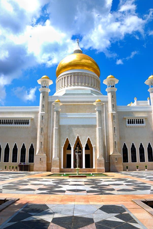 Omar Ali Saifuddien Mosque stock images